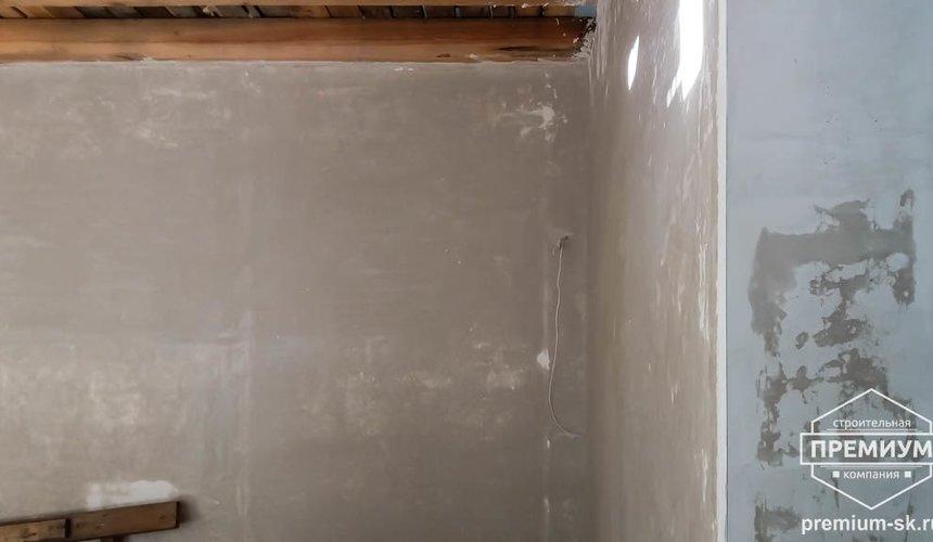 Механизированная штукатурка стен в коттедже 250 кв.м., п. Кашино 10