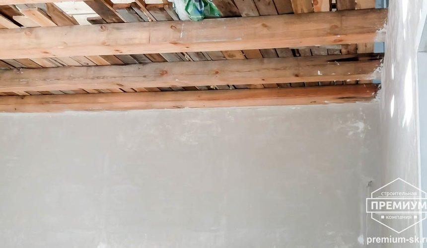 Механизированная штукатурка стен в коттедже 250 кв.м., п. Кашино 11