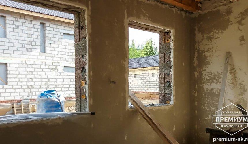 Механизированная штукатурка стен в коттедже 250 кв.м., п. Кашино 12