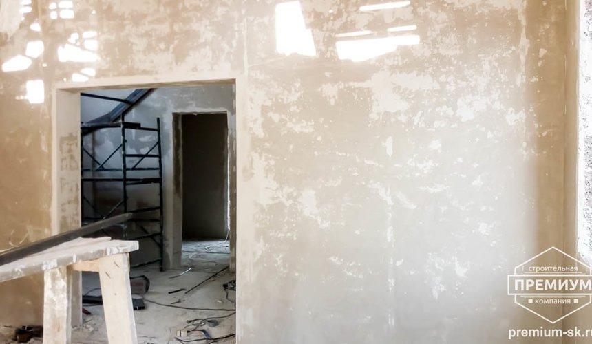 Механизированная штукатурка стен в коттедже 250 кв.м., п. Кашино 14
