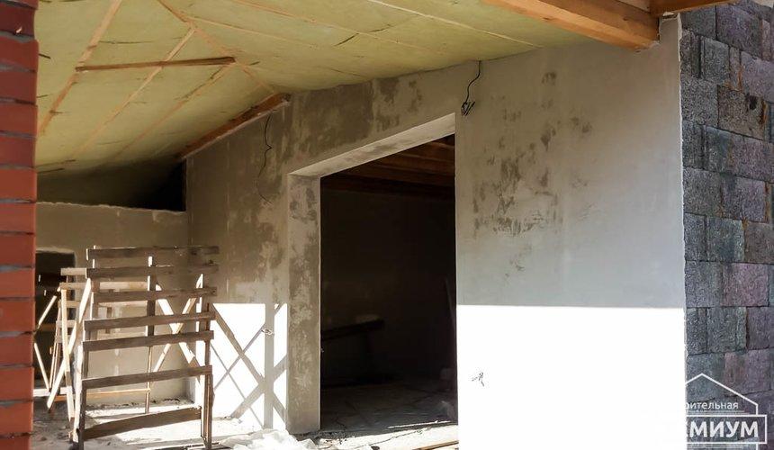 Механизированная штукатурка стен в коттедже 250 кв.м., п. Кашино 15