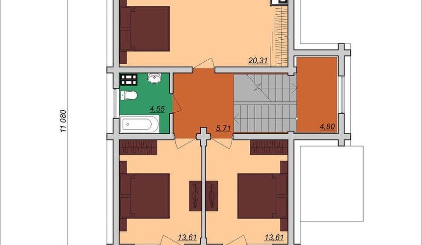 Индивидуальный проект дома 200м2 в КП Палникс 5