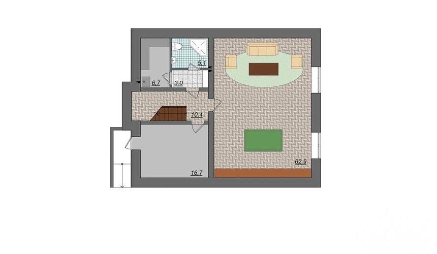 Индивидуальный проект дома 314 м2 в Сысерти 6