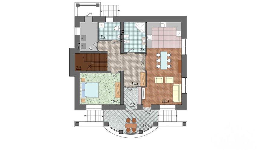 Индивидуальный проект дома 314 м2 в Сысерти 4