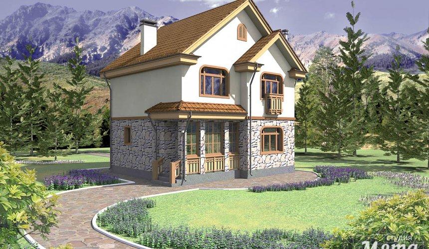 Индивидуальный проект частного дома 100 м2 в Щелкун 1