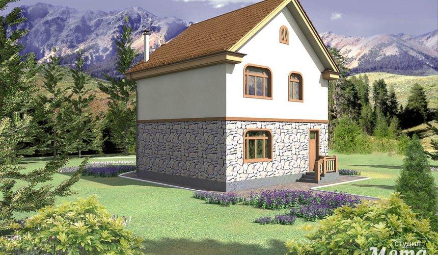 Индивидуальный проект частного дома 100 м2 в Щелкун 2