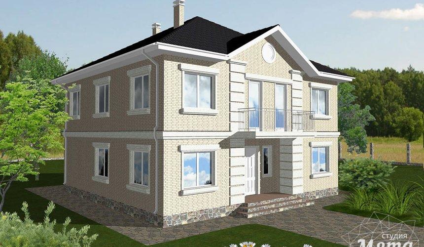Индивидуальный проект дома 200 м2 в Краснодаре 1