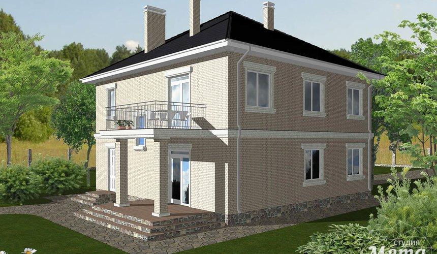Индивидуальный проект дома 200 м2 в Краснодаре 3