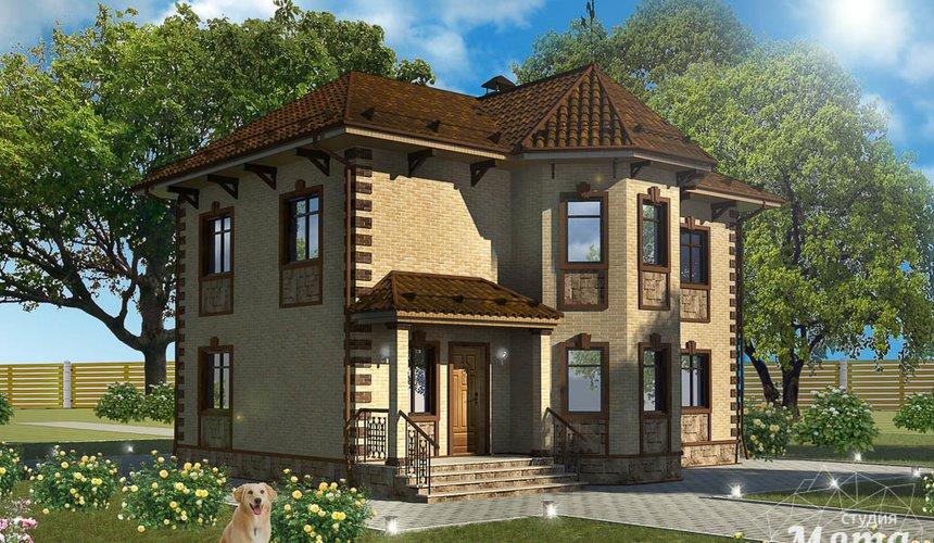 Индивидуальный проект дома 160 м2 в КП Александрия 1