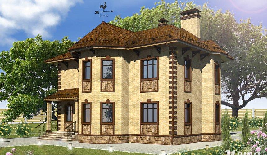 Индивидуальный проект дома 160 м2 в КП Александрия 3