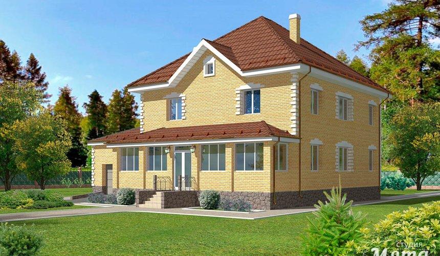 Индивидуальный проект дома 270 м2 в КП Заповедник 1