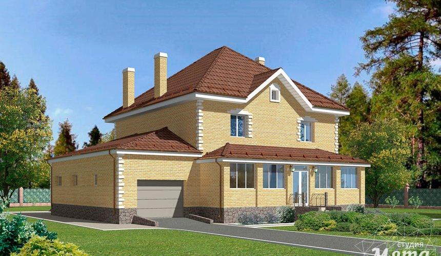Индивидуальный проект дома 270 м2 в КП Заповедник 2