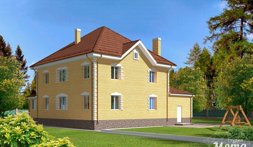 Индивидуальный проект дома 270 м2 в КП Заповедник 3