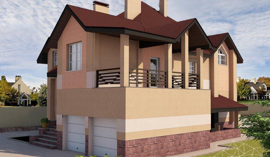Индивидуальный проект дома 215 м2 в п. Санаторный 2