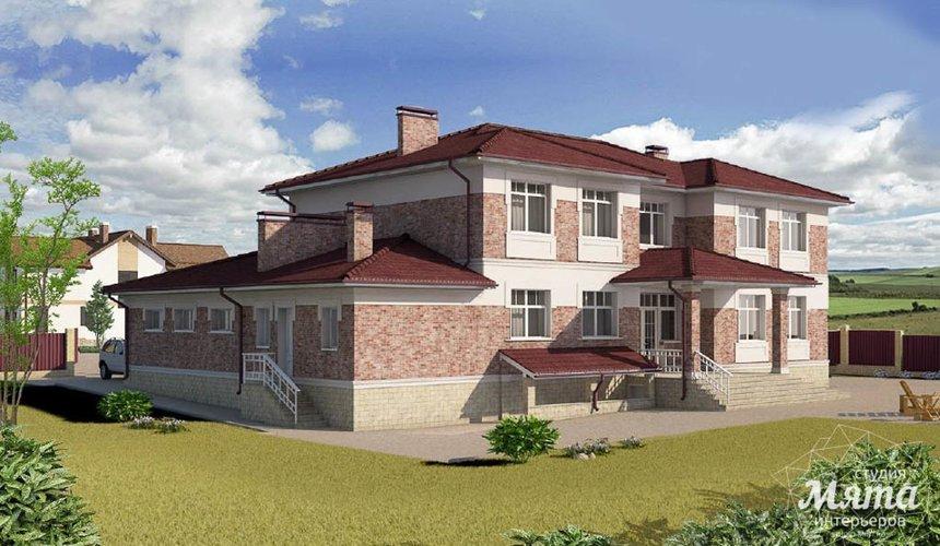 Индивидуальный проект дома 379 м2 в п. Мельница 4