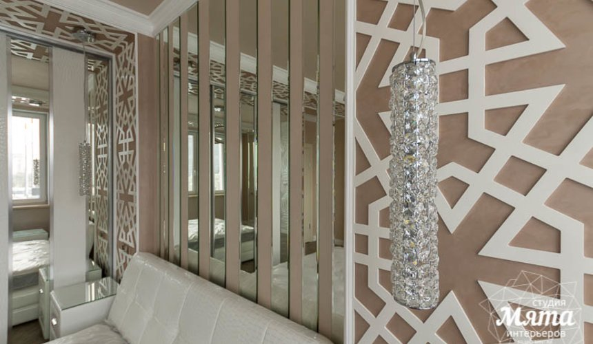 Ремонт и дизайн интерьера трехкомнатной квартиры по ул. Татищева 49 34
