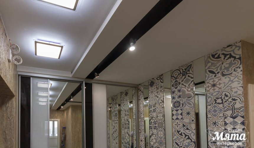Ремонт и дизайн интерьера трехкомнатной квартиры по ул. Татищева 49 53