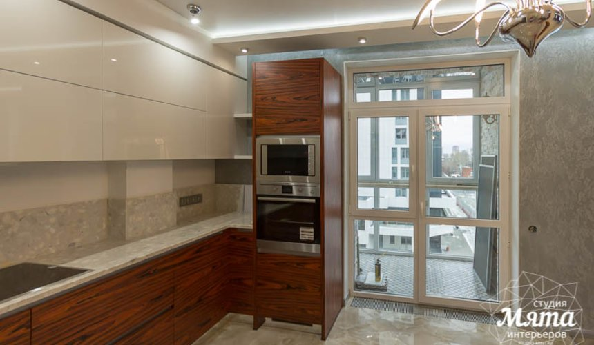 Ремонт и дизайн интерьера трехкомнатной квартиры по ул. Татищева 49 19