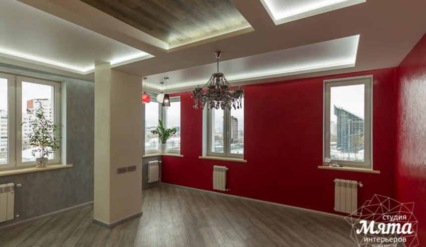 Ремонт и дизайн интерьера трехкомнатной квартиры по ул. Татищева 49 24