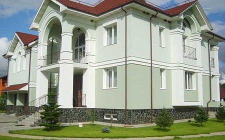 Ремонт фасада коттеджа