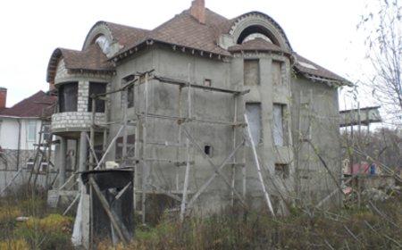 Ремонт фасадов коттеджей