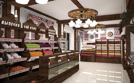 Ремонт магазина продуктов