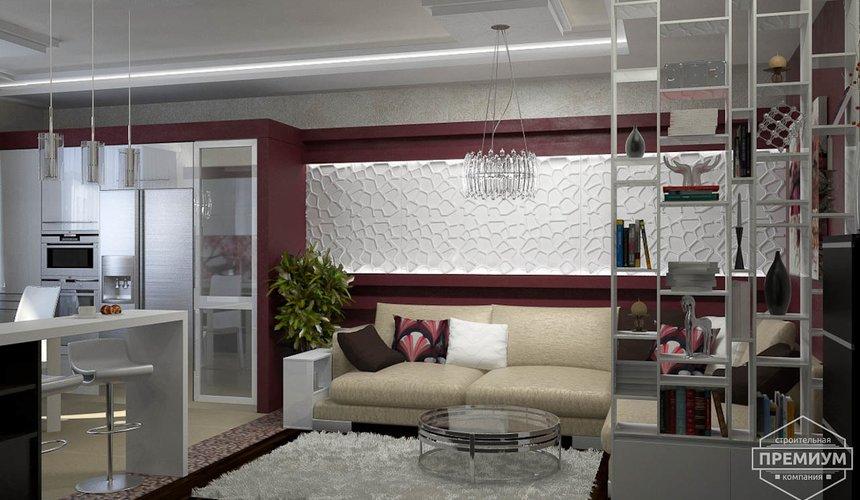 Ремонт и дизайн интерьера трехкомнатной квартиры по ул. Попова 33а 44