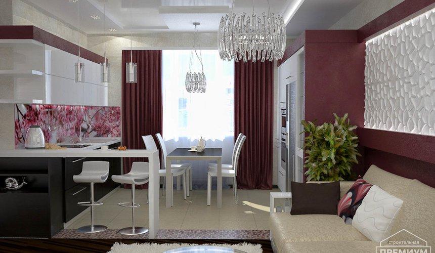 Ремонт и дизайн интерьера трехкомнатной квартиры по ул. Попова 33а 46