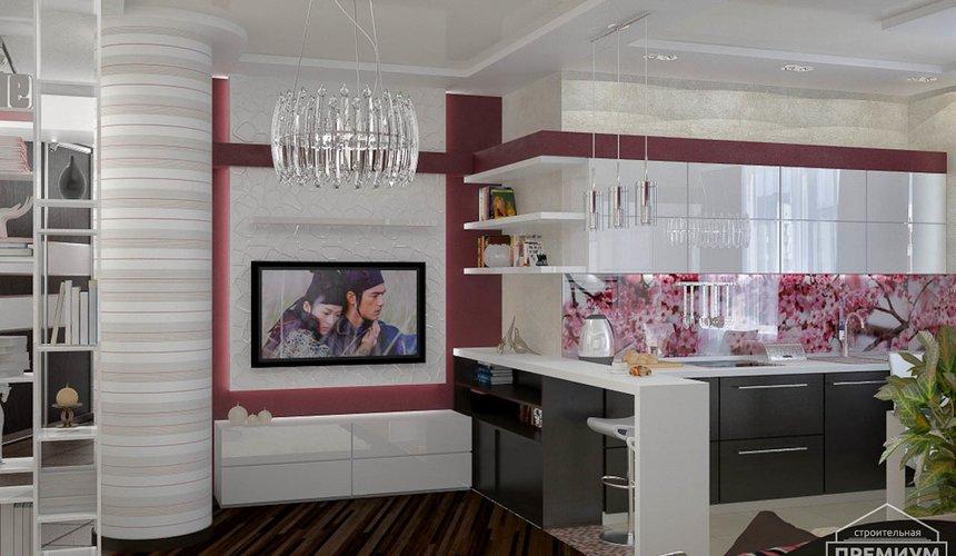 Ремонт и дизайн интерьера трехкомнатной квартиры по ул. Попова 33а 47