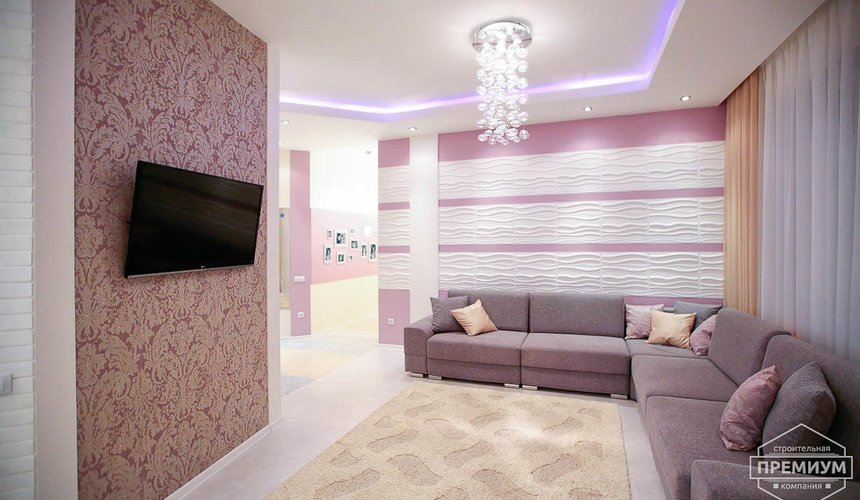 Ремонт и дизайн интерьера трехкомнатной квартиры по ул. Чкалова 124 5
