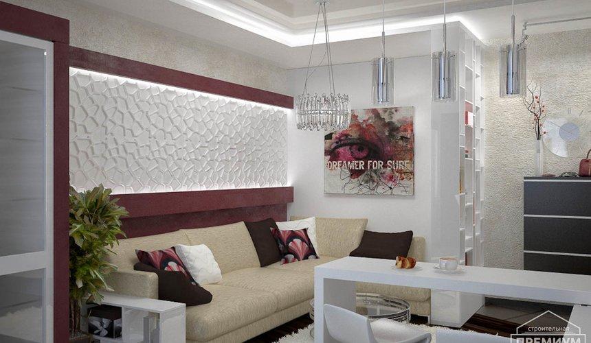 Ремонт и дизайн интерьера трехкомнатной квартиры по ул. Попова 33а 50