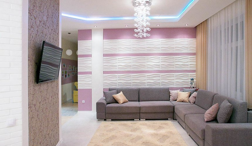 Ремонт и дизайн интерьера трехкомнатной квартиры по ул. Чкалова 124 8