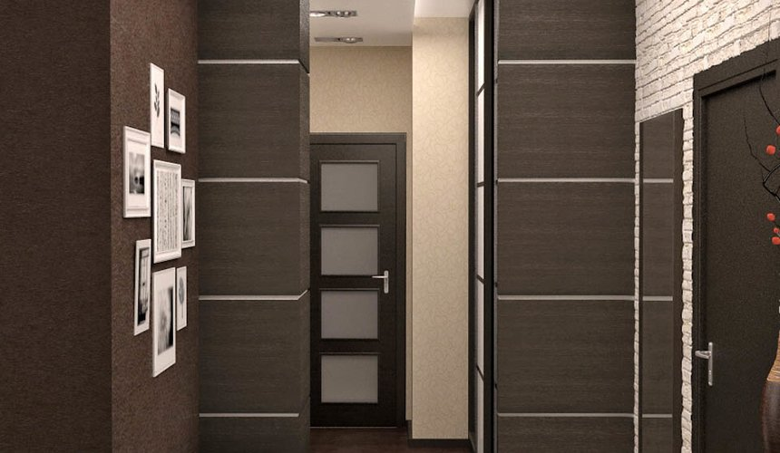 Дизайн интерьера трехкомнатной квартиры по ул. Папанина 18 10