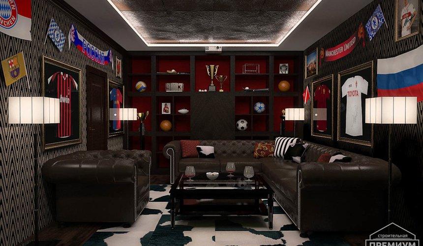 Дизайн интерьера третьего этажа коттеджа Шафран 29