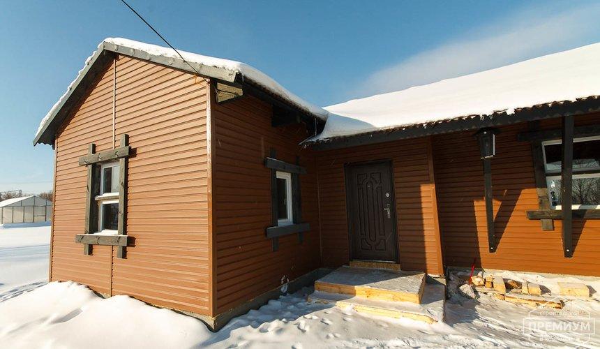 Строительство дома из бруса в п. Косулино 5