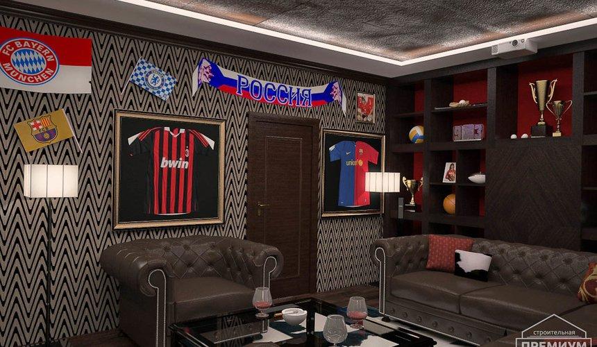Дизайн интерьера третьего этажа коттеджа Шафран 31