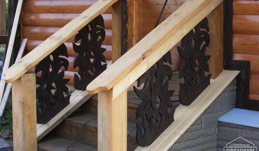 Проектирование и строительство дома из бруса в д. Рябиновка 2