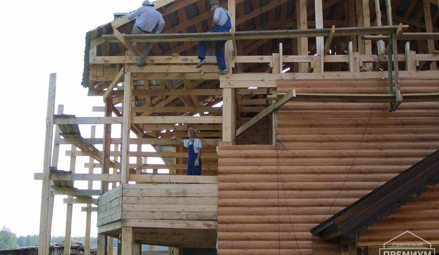 Проектирование и строительство дома из бруса в д. Рябиновка 7