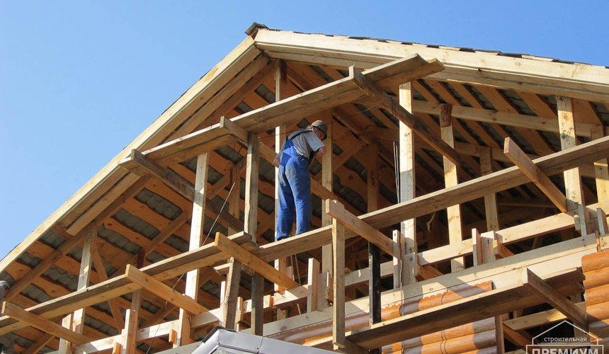 Проектирование и строительство дома из бруса в д. Рябиновка 8