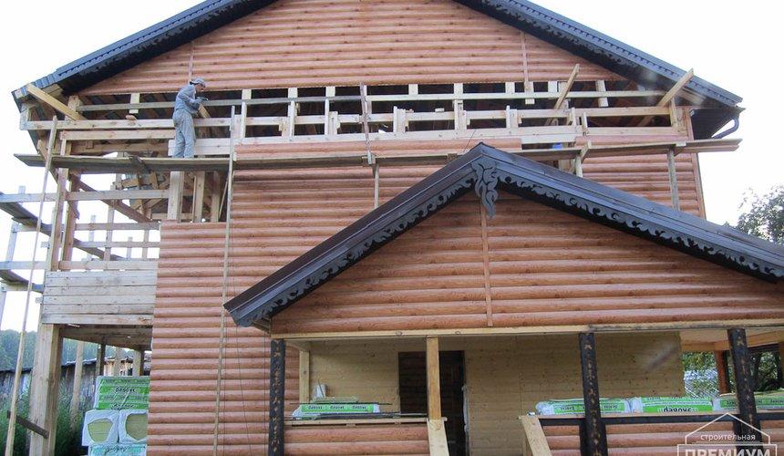 Проектирование и строительство дома из бруса в д. Рябиновка 9