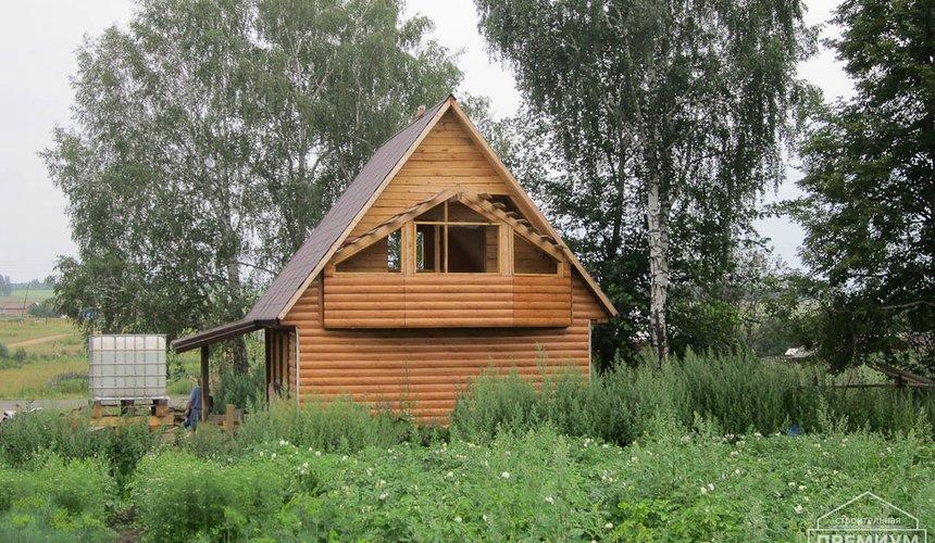 Проектирование и строительство дома из бруса в д. Рябиновка 13