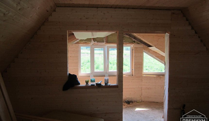 Проектирование и строительство дома из бруса в д. Рябиновка 23