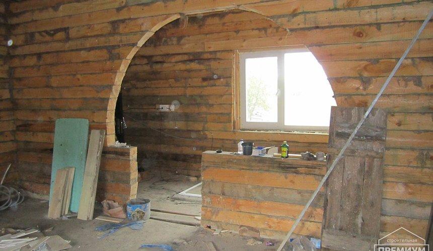 Проектирование и строительство дома из бруса в д. Рябиновка 26