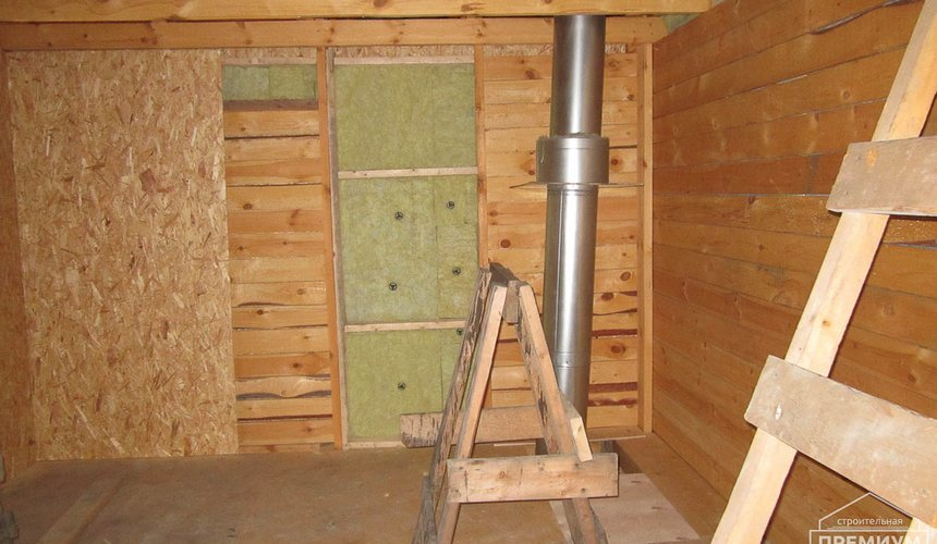 Проектирование и строительство дома из бруса в д. Рябиновка 31