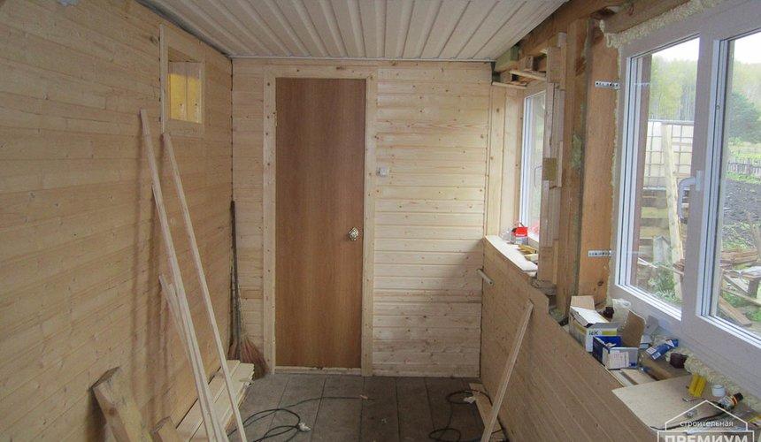 Проектирование и строительство дома из бруса в д. Рябиновка 33