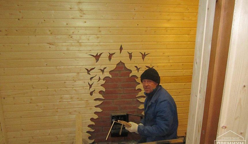 Проектирование и строительство дома из бруса в д. Рябиновка 34