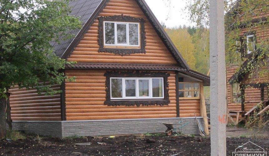 Проектирование и строительство дома из бруса в д. Рябиновка 36