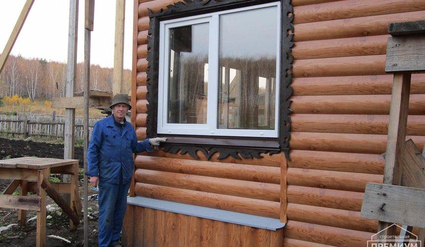Проектирование и строительство дома из бруса в д. Рябиновка 49