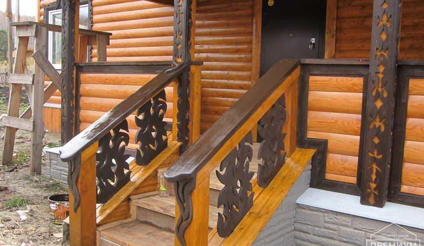 Проектирование и строительство дома из бруса в д. Рябиновка 51