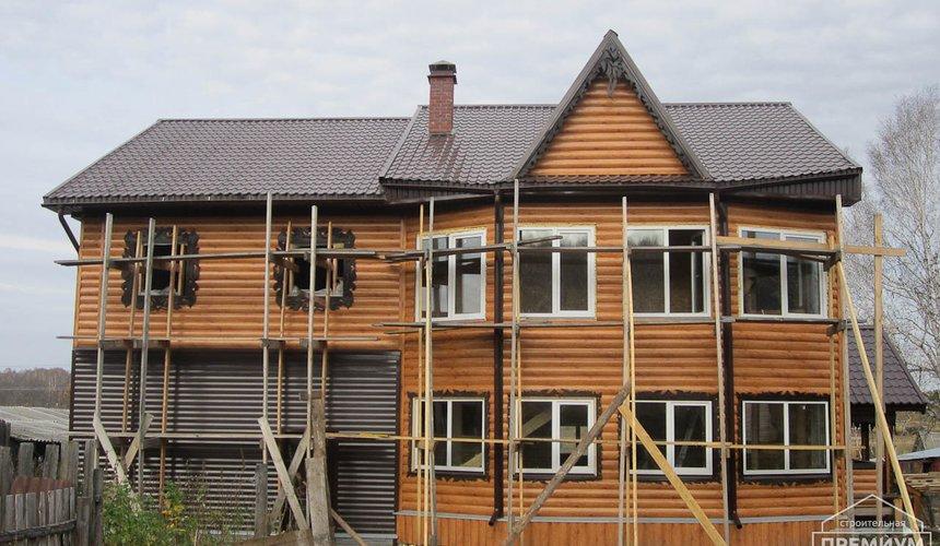 Проектирование и строительство дома из бруса в д. Рябиновка 55